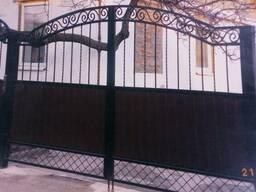 Ворота гаражные, ворота въездные, калитки