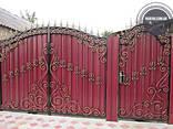 Двери, решетки, навесы, козырьки, ворота, калитки - фото 4