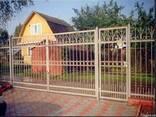Ворота и калитки металлические - фото 3