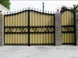 Ворота и калитки металлические - фото 5