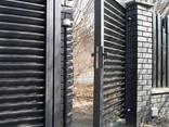 Калитки и ворота металлические. - фото 2