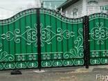 Ворота из профнастила - фото 4
