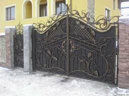 Ворота, калитки – изготовление, доставка, монтаж