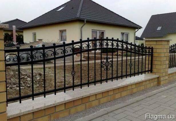 Ворота, калитки, оконные решетки изготовление, монтаж