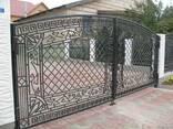 Ворота, калитки, оконные решетки изготовление, монтаж - фото 4