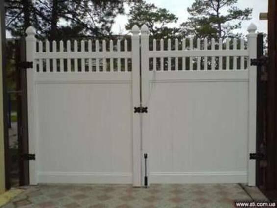 Ворота, калитки из ПВХ