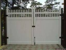 Ворота из ПВх
