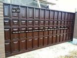 Ворота-Херсон-откатные, распашные, металлические, кованые - фото 1