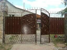 Ворота, калітки, заборні секції ковані. ворота , калитки, забор