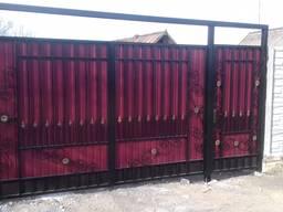 Ворота, калитки, заборы, решетки на окна, навесы