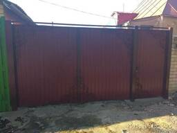 Ворота, калитки, заборы с установкой под ключ по Харькову - фото 2