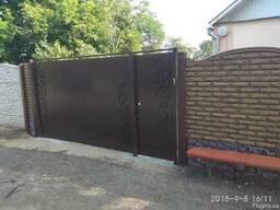 Ворота, калитки, заборы с установкой под ключ по Харькову - фото 3