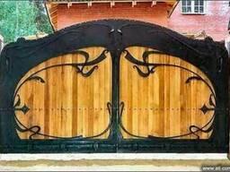 Кованые ворота любой сложности