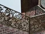 Ворота , огорожі, сходи металічні - фото 3
