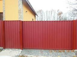 Ворота откатные, распашные, раздвижные, гаражные, забор