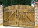 """Ворота """"Под старину"""" - фото 1"""