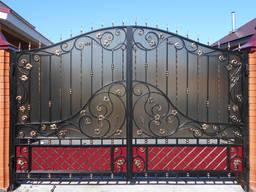 Ворота под заказ. Самые низкие цены в Днепре