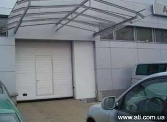 Ворота промислові, ворота секційні гаражні, автоматика до во