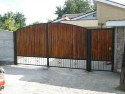 Ворота , двери металличес, навесы, лестницы - фото 4