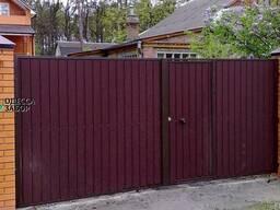 Ворота распашные - качество от производителя!