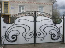 Ворота распашные от ЧП Теряник - фото 2