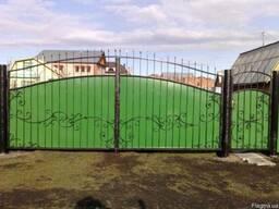 Ворота распашные от ЧП Теряник - фото 4