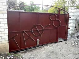 Ворота уличные (въездные) металлические