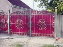 Ворота з каліткой