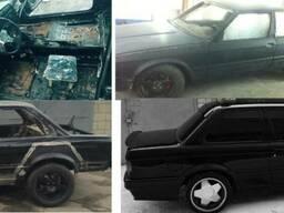 Восстановление авто после ДТП. Cварка, рихтовка, покраска.