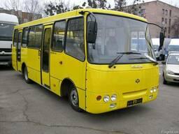 Восстановление и ремонт автобусов Богдан после ДТП