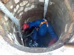 Восстановление дренажной системы сливных ям, Днепр
