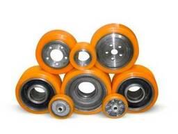 Наварка (наплавка) полиуретаном колес и роликов.