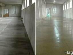 Востановление-ремонт бетонного пола