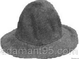 Войлочная шляпа шитая
