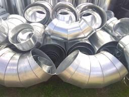 Воздуховоды из оц. стали для систем вентиляции и аспирации