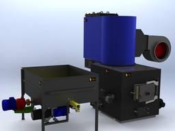 Воздушный теплогенератор СДК для сушки древесины и отопления