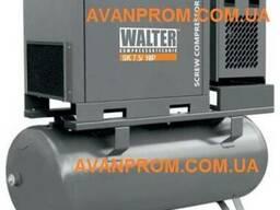 Воздушный винтовой компрессор walter sktg 7. 5 p (500 л)