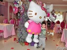Воздушные шары Kitty style. Огромный размер.