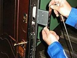 Врезка замена замков в металлические двери