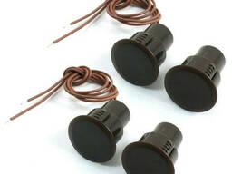Врезной магнитный переключатель RС-36, 10*18 мм, Черный, 10 штук в упаковке, цена за. ..