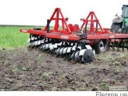 Вспашка, дисковка, обработка земли. Услуги аренда трактора