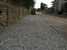 Вторичный щебень (дробленый бетон) Одесса