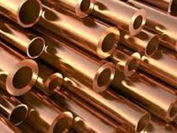 Труба бронзовая ОЦС5-5-5, БрАЖ9-4 Ф=60-400мм.