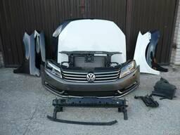 VW Passat B7 Решетка Фара Крыло Бампер Капот Разборка Дверь