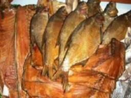 Вяленая, копченая рыба и море продукты
