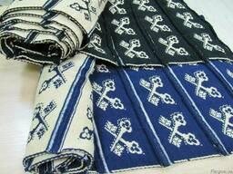Вязаное полотно ( довяз) на манжеты , пояса и воротники