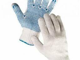 Вязаные рабочие перчатки
