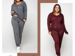 Вязаные женские костюмы в Size