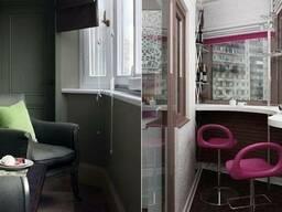 Выбор мебели для балконов и лоджий