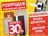 Двері Міжкімнатні | Розсувні Двері | Двері Нестандартних Розмірів - фото 2